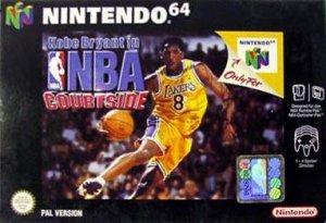 Kobe Bryant in NBA Courtside per Nintendo 64