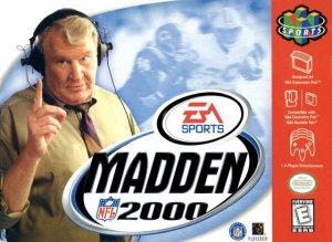 Madden NFL 2000 per Nintendo 64
