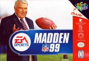 Madden NFL 99 per Nintendo 64