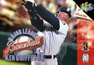 Major League Baseball Featuring Ken Griffey, Jr. per Nintendo 64