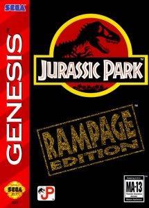 Jurassic Park: Rampage Edition per Sega Mega Drive
