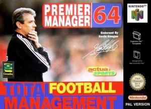Premier Manager 64 per Nintendo 64