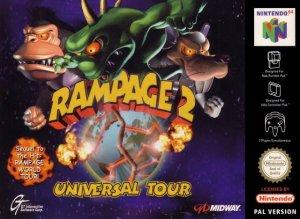 Rampage 2: Universal Tour per Nintendo 64