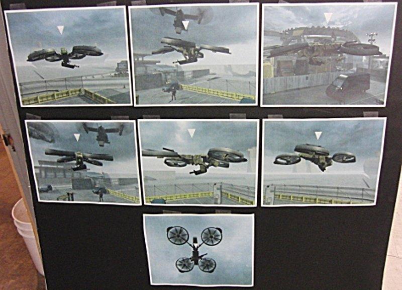 Call of Duty: Black Ops 2 - primi concept trafugati del Quadrotor
