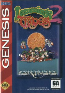 Lemmings 2: The Tribes per Sega Mega Drive
