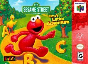 Sesame Street: Elmo's Letter Adventure per Nintendo 64