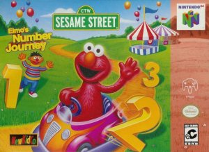 Sesame Street: Elmo's Number Journey per Nintendo 64