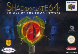 Shadowgate 64: Trials of the Four Towers per Nintendo 64