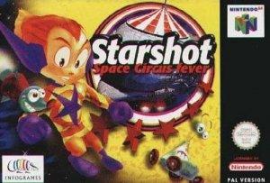 Starshot: Space Circus Fever per Nintendo 64