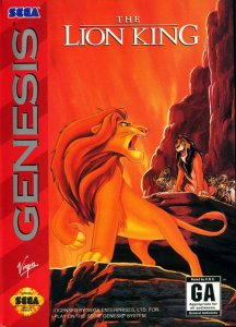 The Lion King per Sega Mega Drive