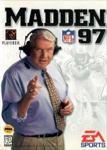 Madden NFL 97 per Sega Mega Drive
