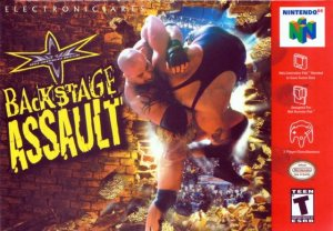 WCW Backstage Assault per Nintendo 64