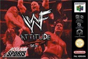 WWF Attitude per Nintendo 64