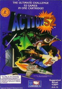 Action 52 per Nintendo Entertainment System