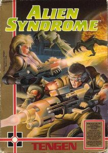 Alien Syndrome per Nintendo Entertainment System
