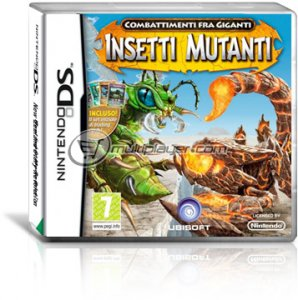 Combattimenti fra Giganti: Insetti Mutanti per Nintendo DS