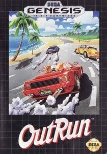 Outrun per Sega Mega Drive