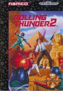 Rolling Thunder 2 per Sega Mega Drive