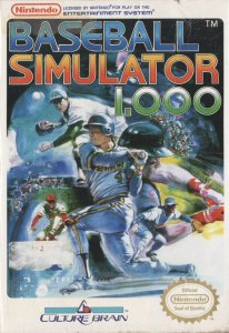 Baseball Simulator 1000 per Nintendo Entertainment System