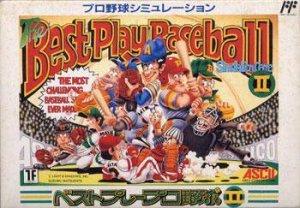 Best Play Pro Yakyuu II per Nintendo Entertainment System