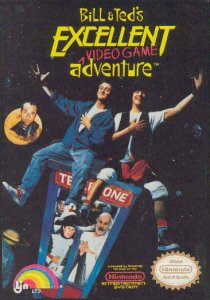 Bill & Ted's Excellent Adventure per Nintendo Entertainment System
