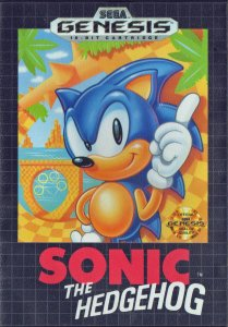 Sonic The Hedgehog per Sega Mega Drive