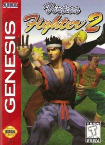 Virtua Fighter 2 per Sega Mega Drive
