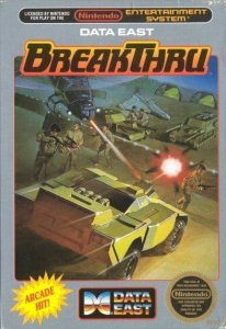 BreakThru per Nintendo Entertainment System