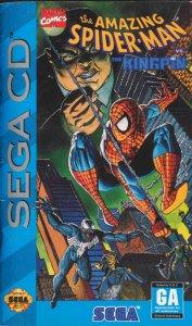 The Amazing Spider-Man vs. the Kingpin per Sega Mega-CD