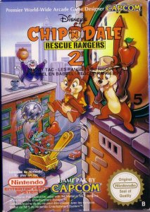 Chip 'n Dale: Rescue Rangers 2 per Nintendo Entertainment System