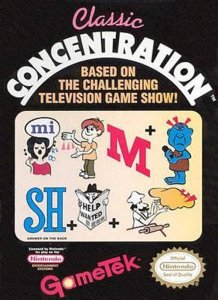 Classic Concentration per Nintendo Entertainment System