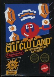 Clu Clu Land per Nintendo Entertainment System
