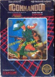 Commando per Nintendo Entertainment System