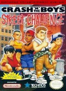 Crash'n the Boys Street Challenge per Nintendo Entertainment System