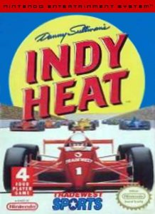 Danny Sullivan's Indy Heat per Nintendo Entertainment System