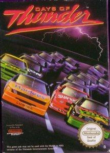Days of Thunder per Nintendo Entertainment System