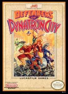 Defenders of Dynatron City per Nintendo Entertainment System