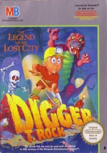Digger T. Rock: The Legend of the Lost City per Nintendo Entertainment System
