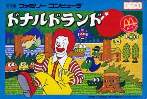 Donald Land per Nintendo Entertainment System