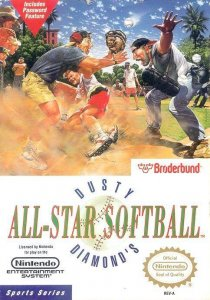 Dusty Diamond's All-Star Softball per Nintendo Entertainment System