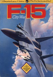 F-15 City Wars per Nintendo Entertainment System