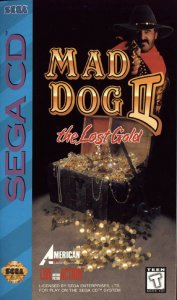 Mad Dog II: The Lost Gold per Sega Mega-CD