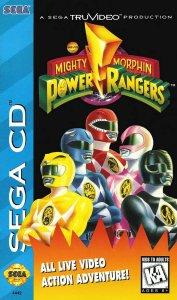 Mighty Morphin Power Rangers per Sega Mega-CD