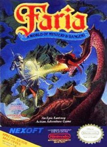 Faria: A World of Mystery & Danger! per Nintendo Entertainment System