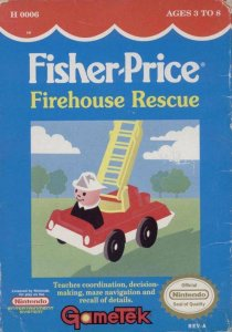 Fisher Price: Fire House Rescue per Nintendo Entertainment System