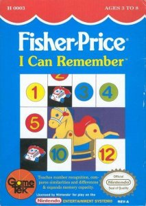 Fisher Price: I Can Remember per Nintendo Entertainment System