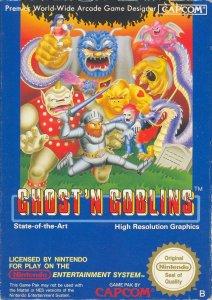 Ghosts'n Goblins per Nintendo Entertainment System