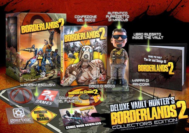Rivelate le due edizioni speciali di Borderlands 2 - Con immagini