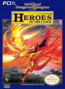 Heroes of the Lance per Nintendo Entertainment System