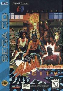 Slam City with Scottie Pippen per Sega Mega-CD